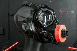 Picture of AirTube S10 gasmask outlet  fitting